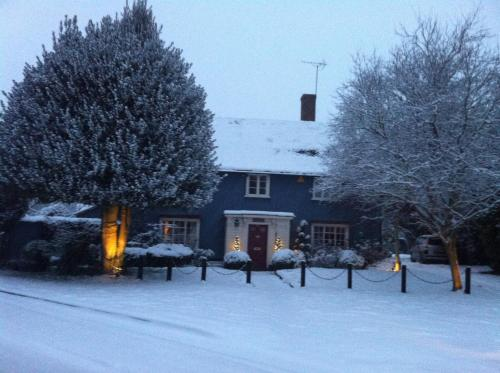 The Coach House B&B during the winter