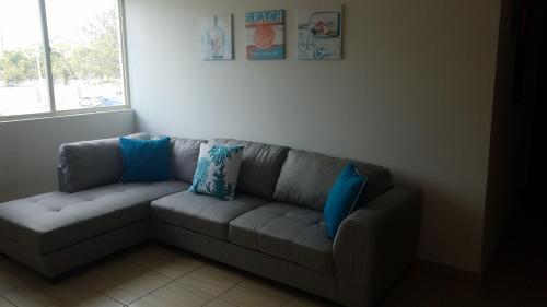A seating area at San Juan Condominium