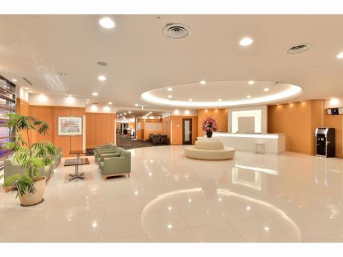 The lobby or reception area at Hotel KSP