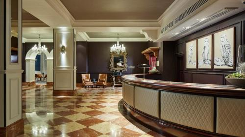 The lobby or reception area at Bristol Marriott Royal Hotel