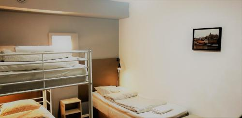 A bed or beds in a room at Mosebacke Hostel