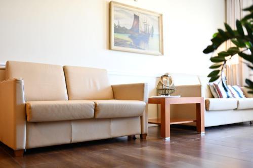 Część wypoczynkowa w obiekcie City Art Apartamenty w Rezydencji Maritimo