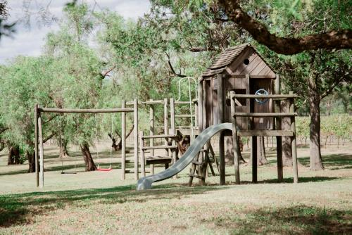 Children's play area at Tranquil Vale Vineyard
