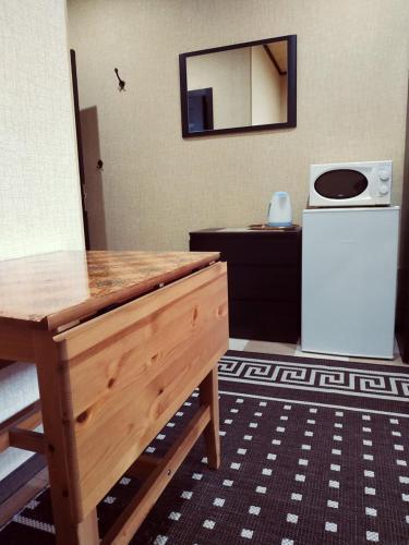 Кухня или мини-кухня в Отель Георгиевский