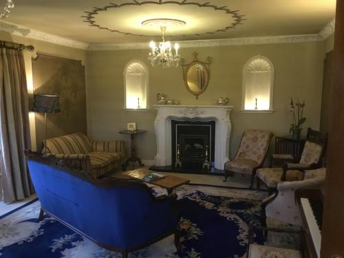 A seating area at Clow Beck House