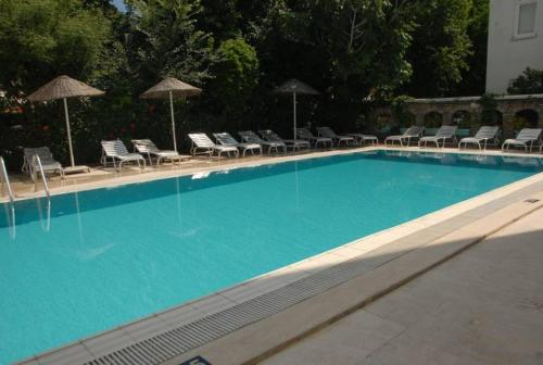 The swimming pool at or near Diva Hotel
