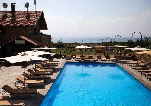 A view of the pool at Tufenkian Avan Marak Tsapatagh Hotel or nearby