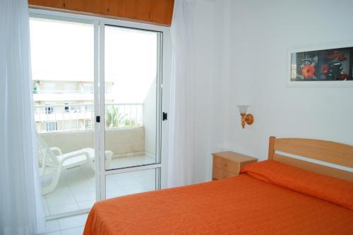 Кровать или кровати в номере Palmera Beach