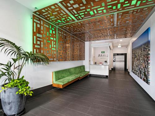 The lobby or reception area at Atrio Apartments