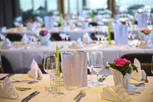 Ein Restaurant oder anderes Speiselokal in der Unterkunft Katholisch-Soziales Institut
