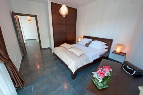 Krevet ili kreveti u jedinici u okviru objekta Love Live Hotel