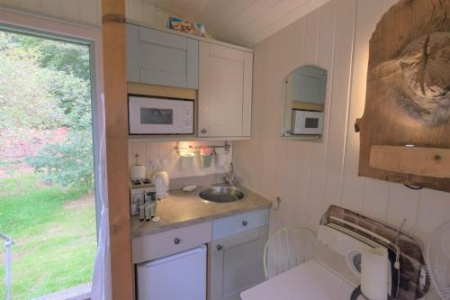 A kitchen or kitchenette at NORTH HILL FARM