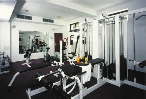 Het fitnesscentrum en/of fitnessfaciliteiten van Hotel Esprit