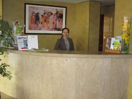 Staff members at Hotel Dom Vilas