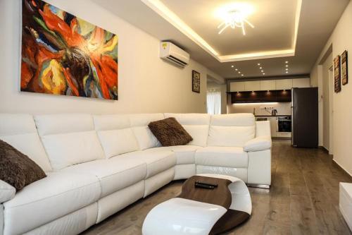Area soggiorno di Avensia Apartment