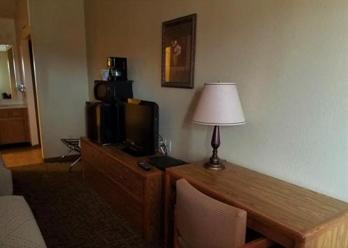 A television and/or entertainment center at Elk Creek Resort