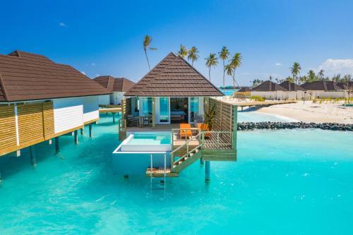 Der Swimmingpool an oder in der Nähe von Sun Siyam Olhuveli