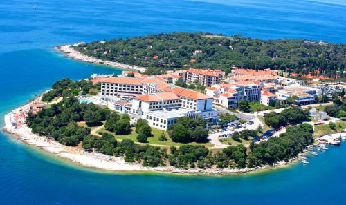A bird's-eye view of Park Plaza Histria Pula