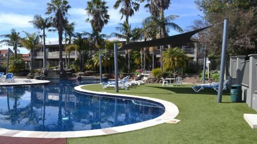 The swimming pool at or near 39C Cypress Drive Apartment