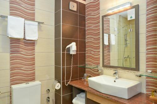 A bathroom at Hotel Hill