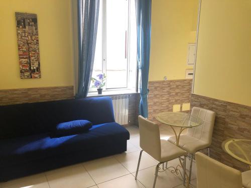Area soggiorno di B&B Quattro Palazzi Napoli Centro