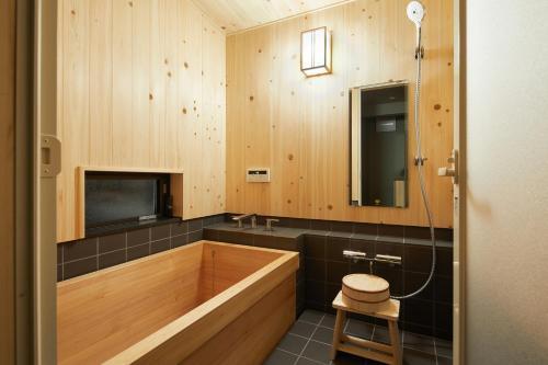 HANARE KYOTO Inにあるバスルーム