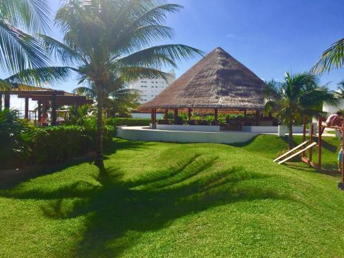 Jardín al aire libre en Apartamento de lujo en Cancún