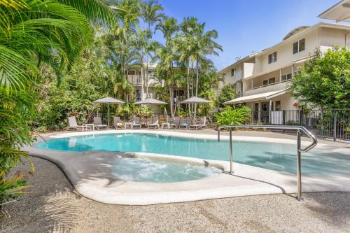 The swimming pool at or near Sunset Cove Noosa