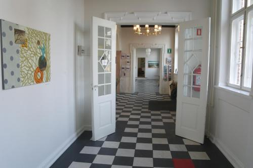 Ванная комната в Emmaus Hostel