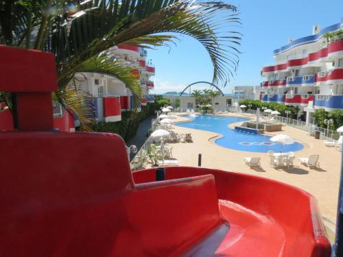 Vista de la piscina de Holiday Florianópolis - 102A o alrededores