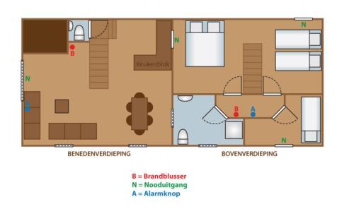 The floor plan of De Heurwinning