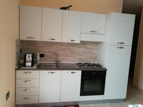Cucina o angolo cottura di Casa Vigin