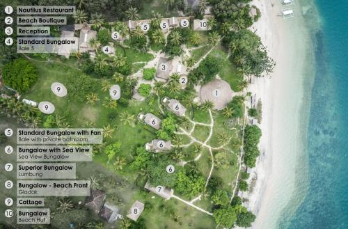A bird's-eye view of Gili Asahan Eco Lodge & Restaurant
