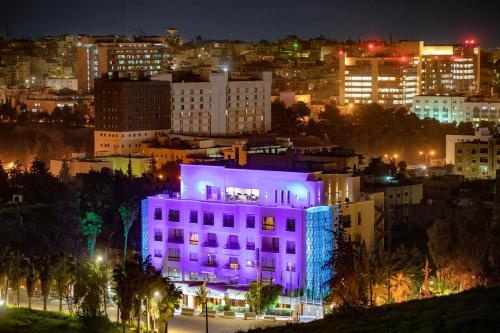 A bird's-eye view of Amman International Hotel