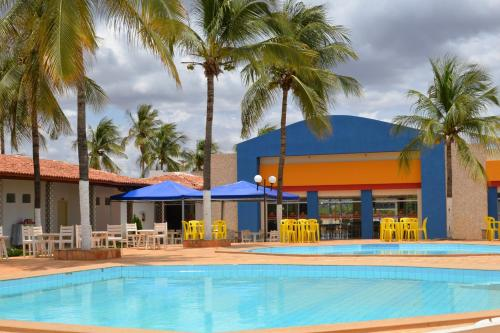 The swimming pool at or near Fiesta Bahiana Club Hotel
