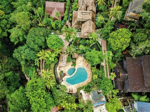 A bird's-eye view of Warwick Ibah Luxury Villas & Spa