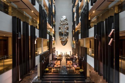 Restaurant ou autre lieu de restauration dans l'établissement The Canvas Hotel Dubai – MGallery