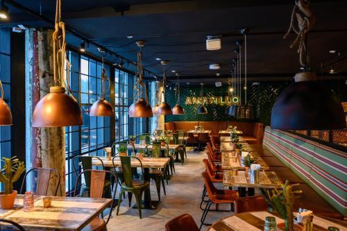 En restaurang eller annat matställe på Break Sokos Hotel Vuokatti