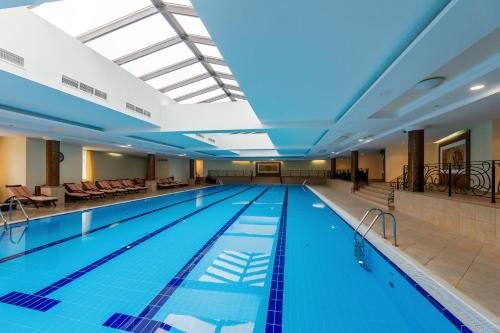 The swimming pool at or close to M`Istra`L Hotel & SPA