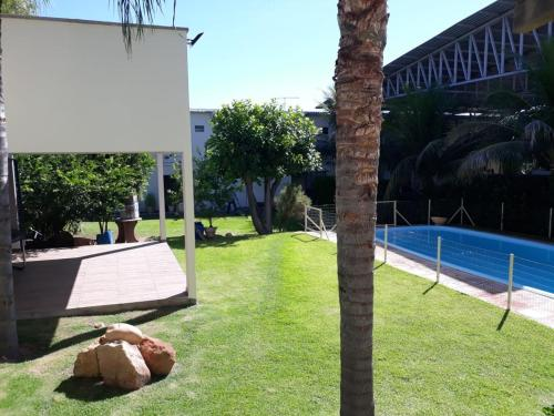 The swimming pool at or near Hotel Brasão