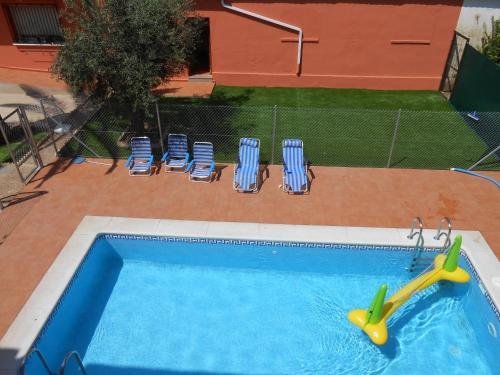 Vista de la piscina de Apartamentos Turísticos Domus Aquae o alrededores
