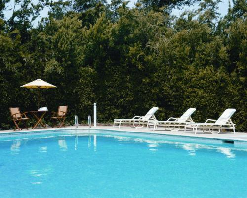 The swimming pool at or near Asilomar Conference Grounds
