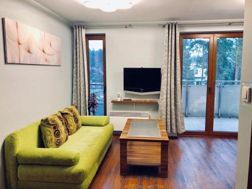 Część wypoczynkowa w obiekcie Apartament nr 39 Baltic Park