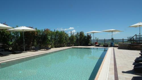 The swimming pool at or close to Hotel Leone