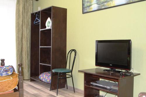 Телевизор и/или развлекательный центр в Апартаменты в Голубых озерах