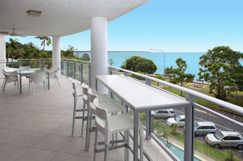 A balcony or terrace at Vision Apartments