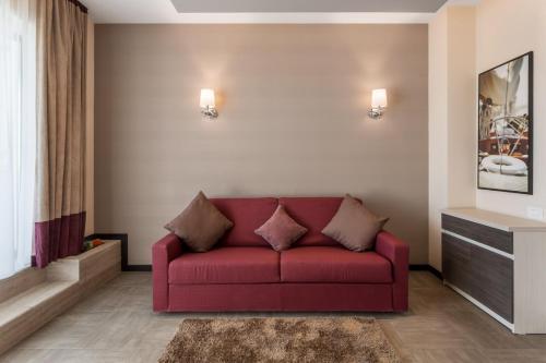 אזור ישיבה ב-New Splendid Hotel & Spa - Adults Only (+16)