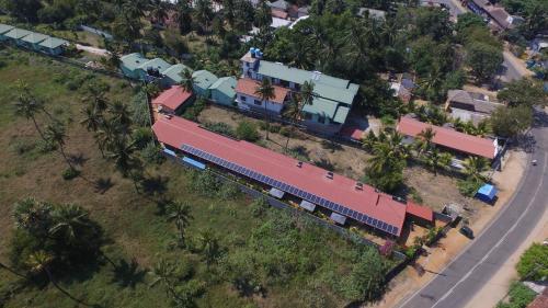 A bird's-eye view of The Long Hostel