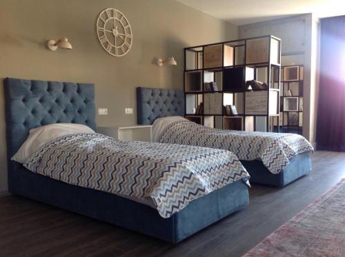 Кровать или кровати в номере Dream Apartament