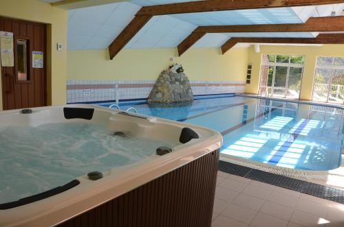 The swimming pool at or near Apartments Gite le Picors